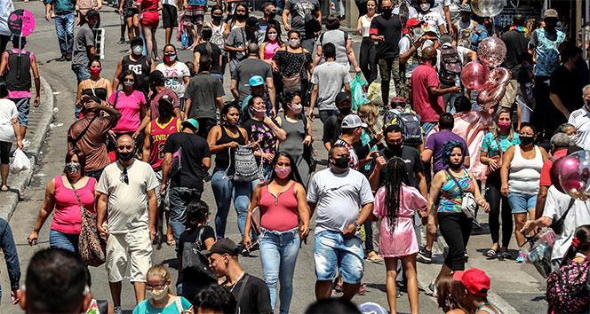 Dünyada en çok ölümün yaşandığı 2. ülke Brezilya'da salgının önüne geçilemiyor