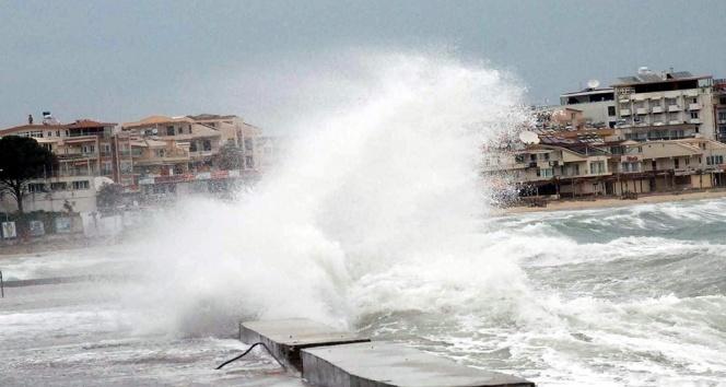 Ege Denizi'nde fırtına bekleniyor