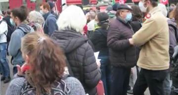 Fransa'da gazetecilerden 'küresel güvenlik' yasası karşıtı protesto