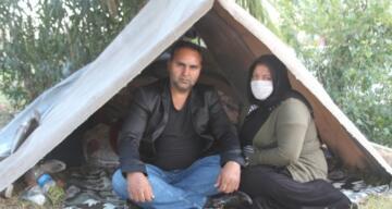 İş ve kalacak yer vaadiyle Antalya'ya gelen aile hayatlarının şokunu yaşadı