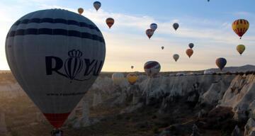 Kapadokya'da balon turları 2 gündür yapılamıyor