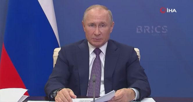 Rusya Devlet Başkanı Putin 16. BRICS Zirvesi'nde konuştu