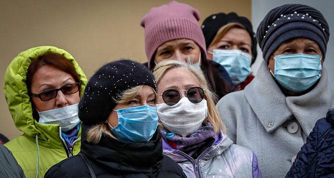 Rusya'da 24 saatte koronadan 389 can kaybı