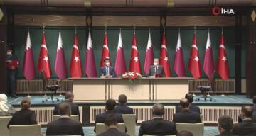 Türkiye ile Katar arasında 10 anlaşma, deklarasyon ve mutabakat zaptı imzalandı