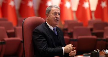 Bakan Akar'dan Türk-Rus Ortak Merkezi açıklamaları